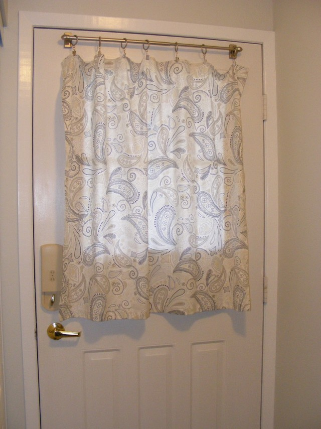 Front Door Curtains Ideas
