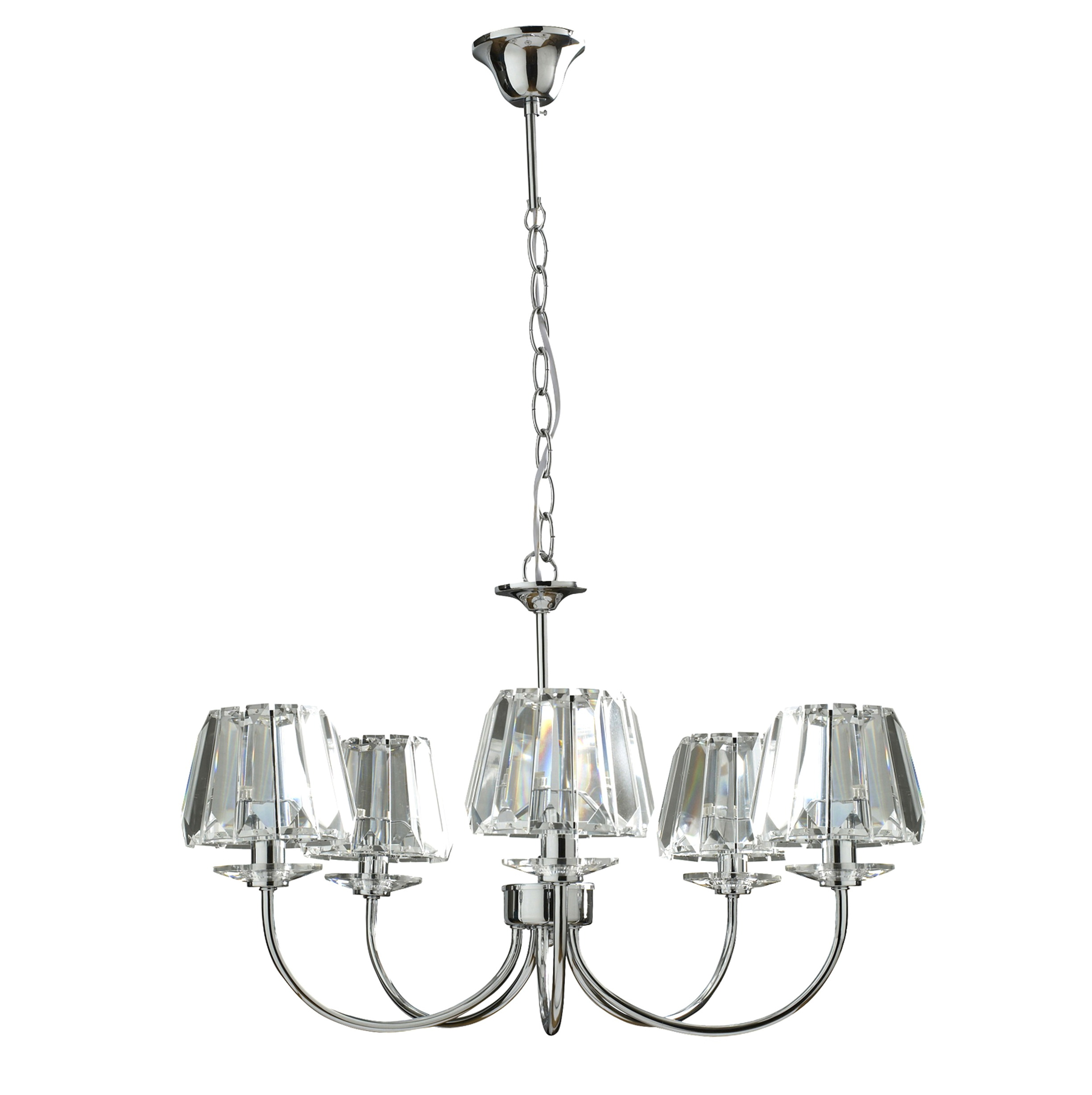 Glass Chandelier Light Shades