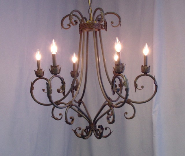Hampton Bay 6 Light Chandelier