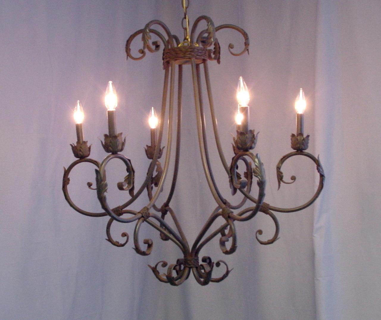 Hampton Bay 6 Light Chandelier