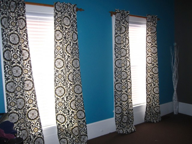 Hidden Back Tab Curtains