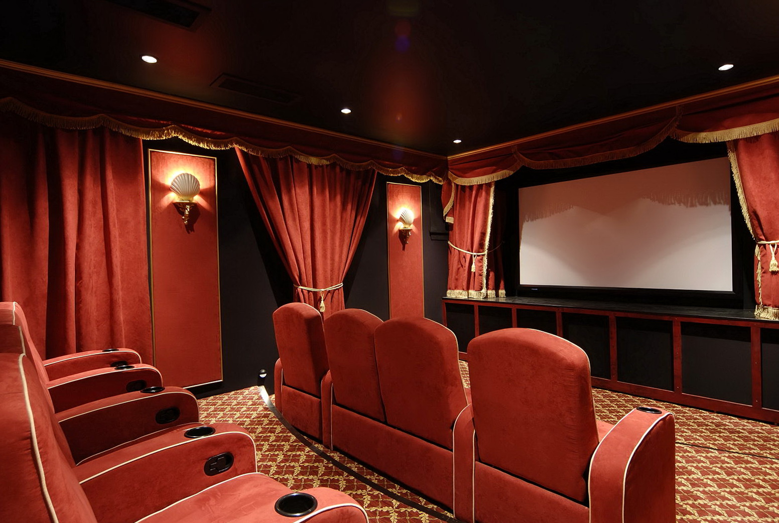 Home Theater Curtains For Sale
