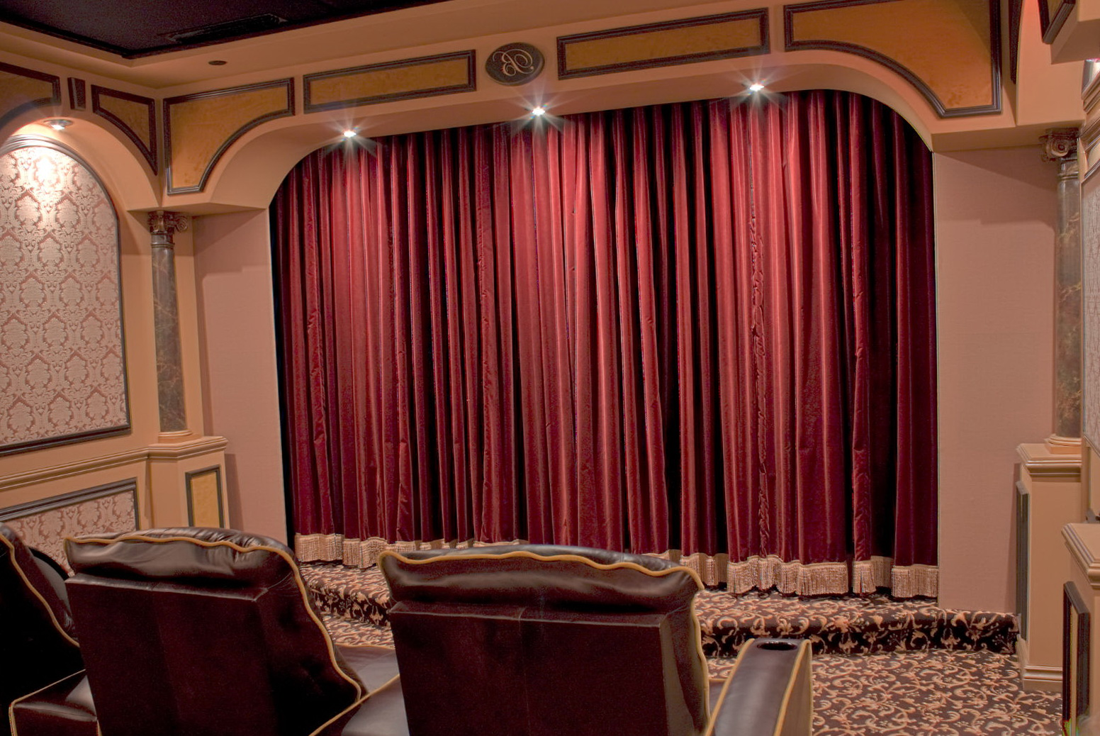 Home Theater Curtains Motorized