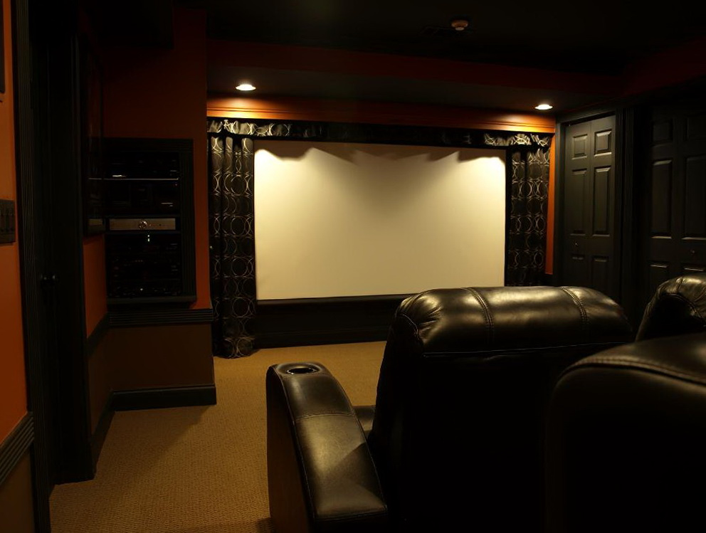 Home Theater Wall Curtains