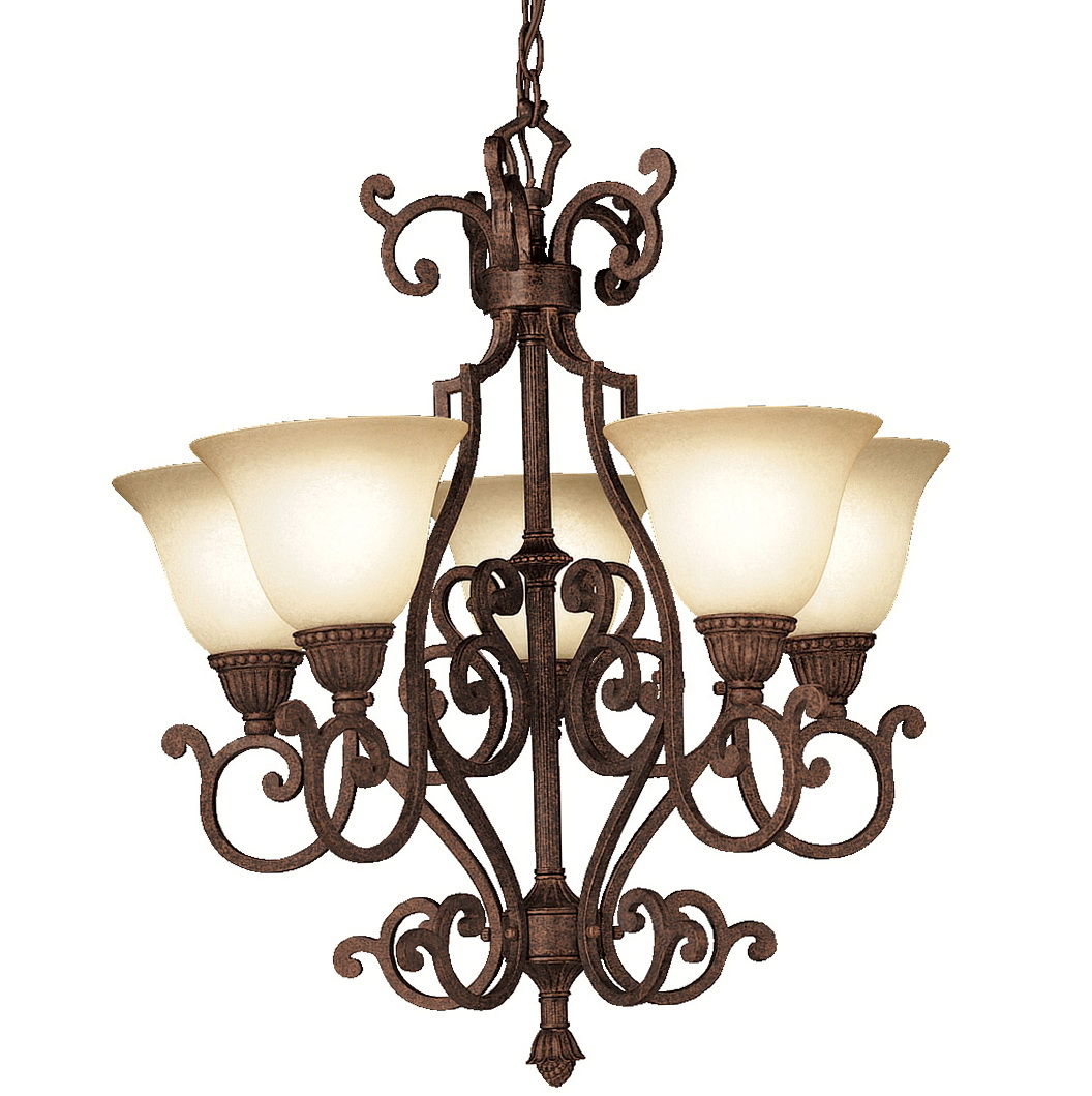 Kichler Dover 5 Light Chandelier