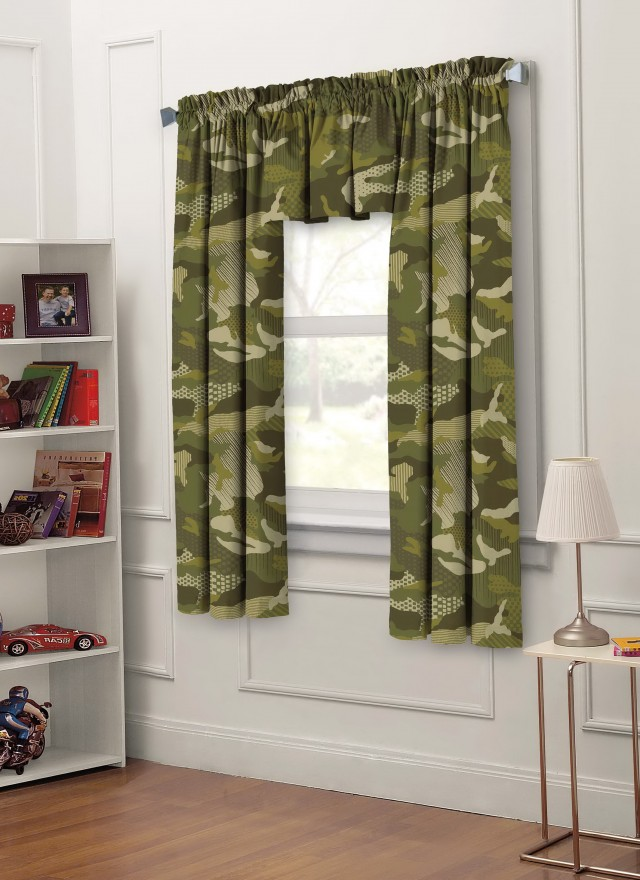 Kids Bedroom Window Curtains