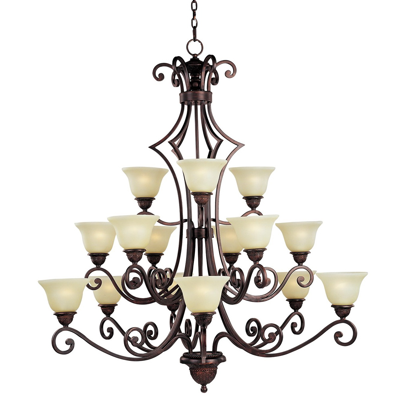 Large Oil Rubbed Bronze Chandelier