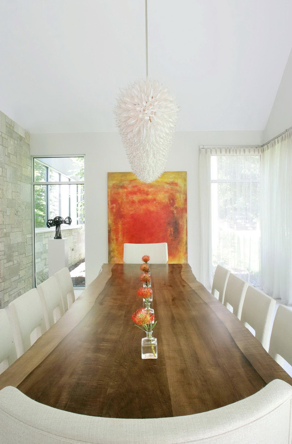 Long Dining Table Chandelier