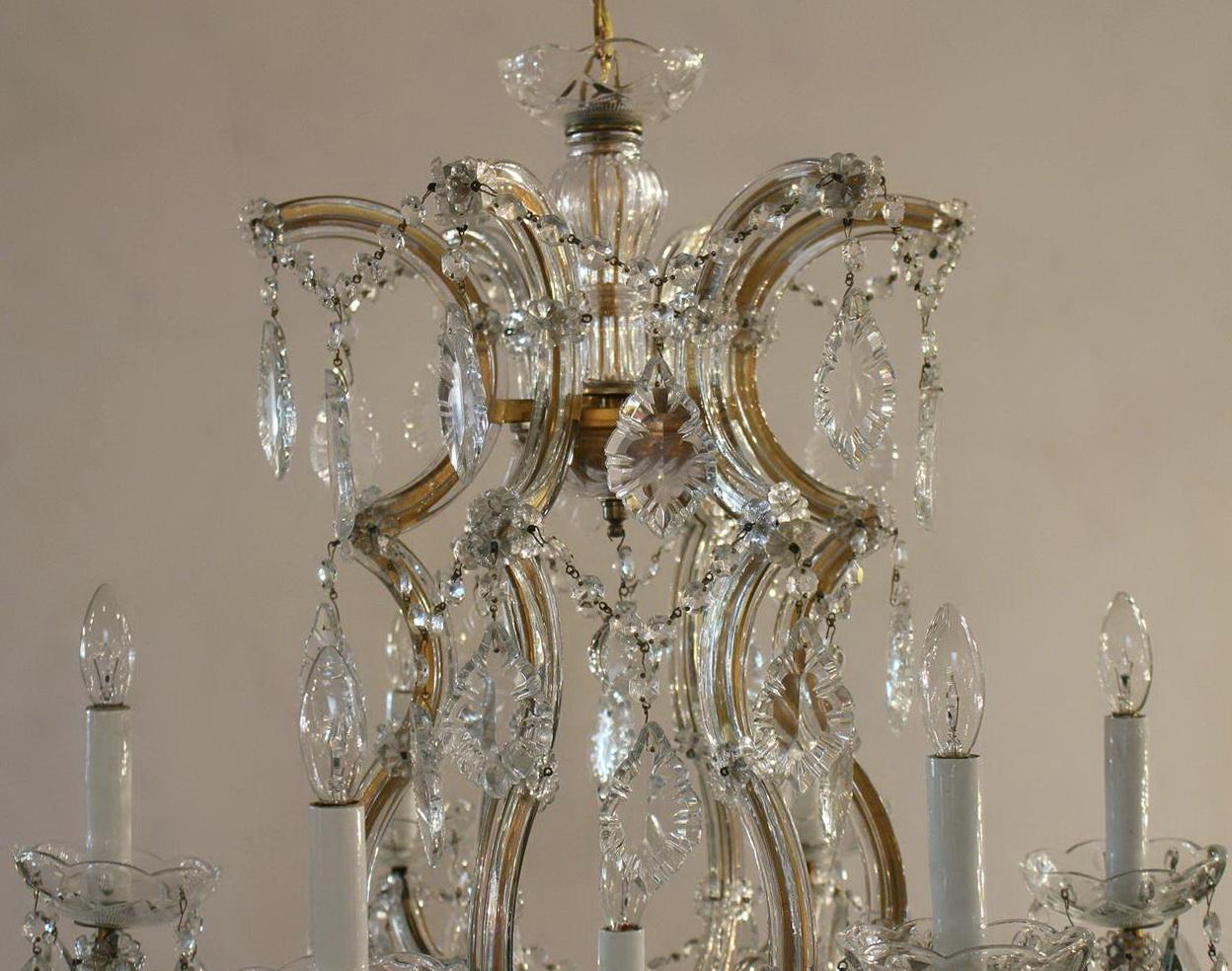 Maria Theresa Chandelier Vintage