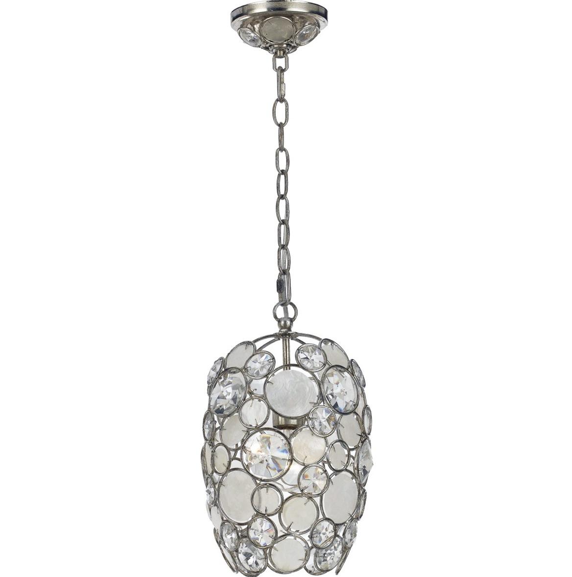 Mini Pendant Chandelier Crystal