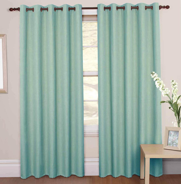 Mint Green Curtain Panels