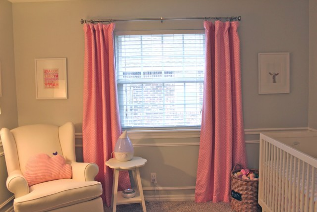 Nursery Blackout Curtains Target