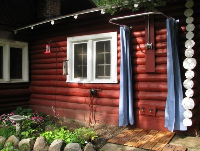 Outdoor Curtain Rod Home Depot