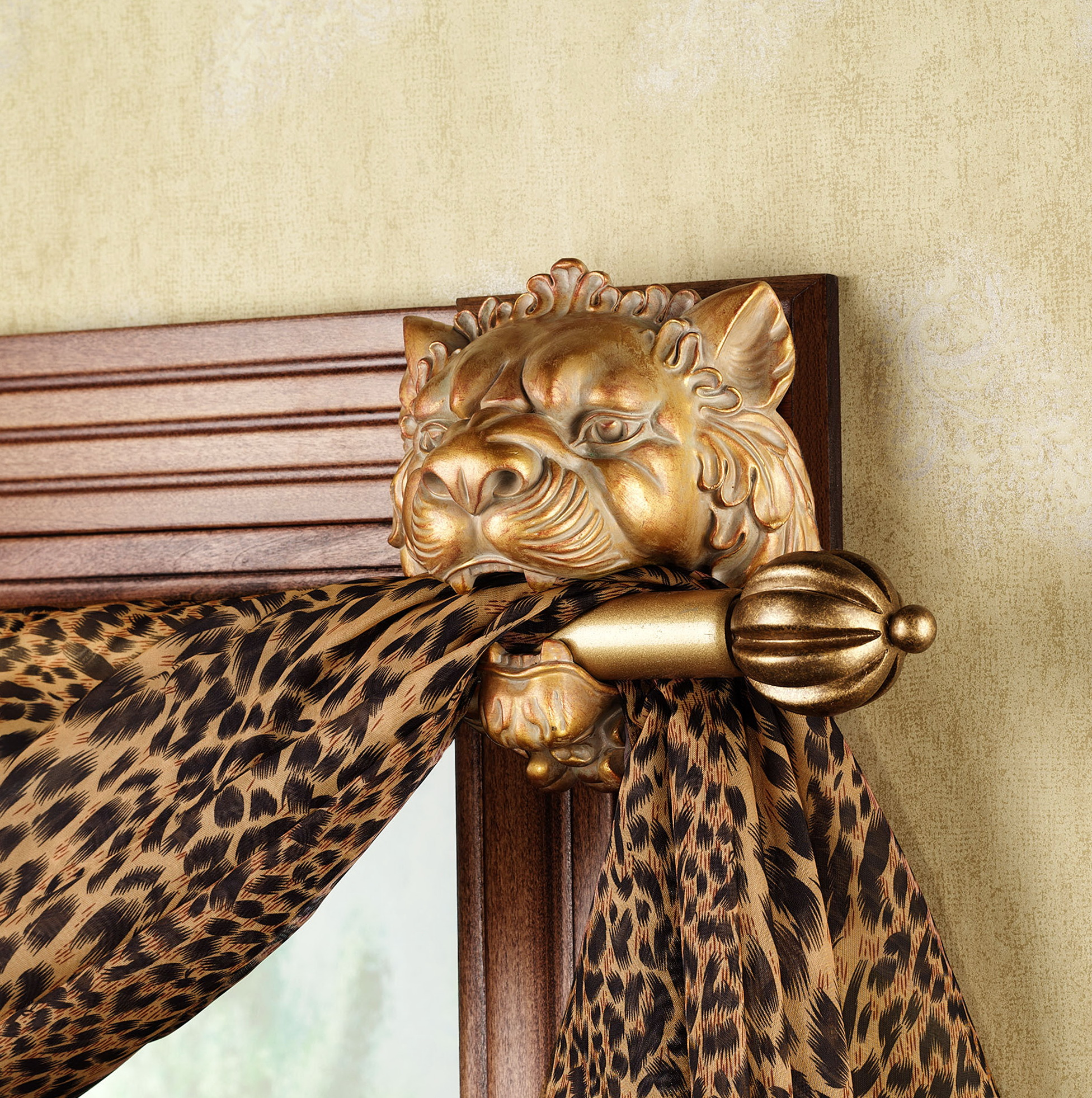 Outdoor Curtain Rod Stand