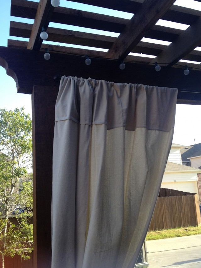 Outdoor Curtain Rods Target