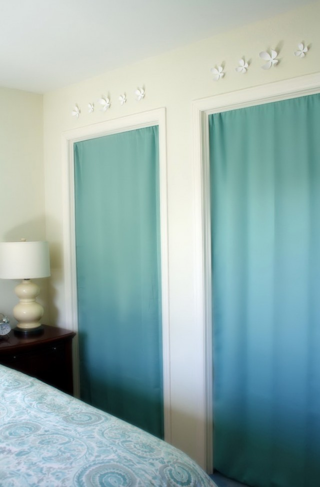 Panel Curtain Closet Door