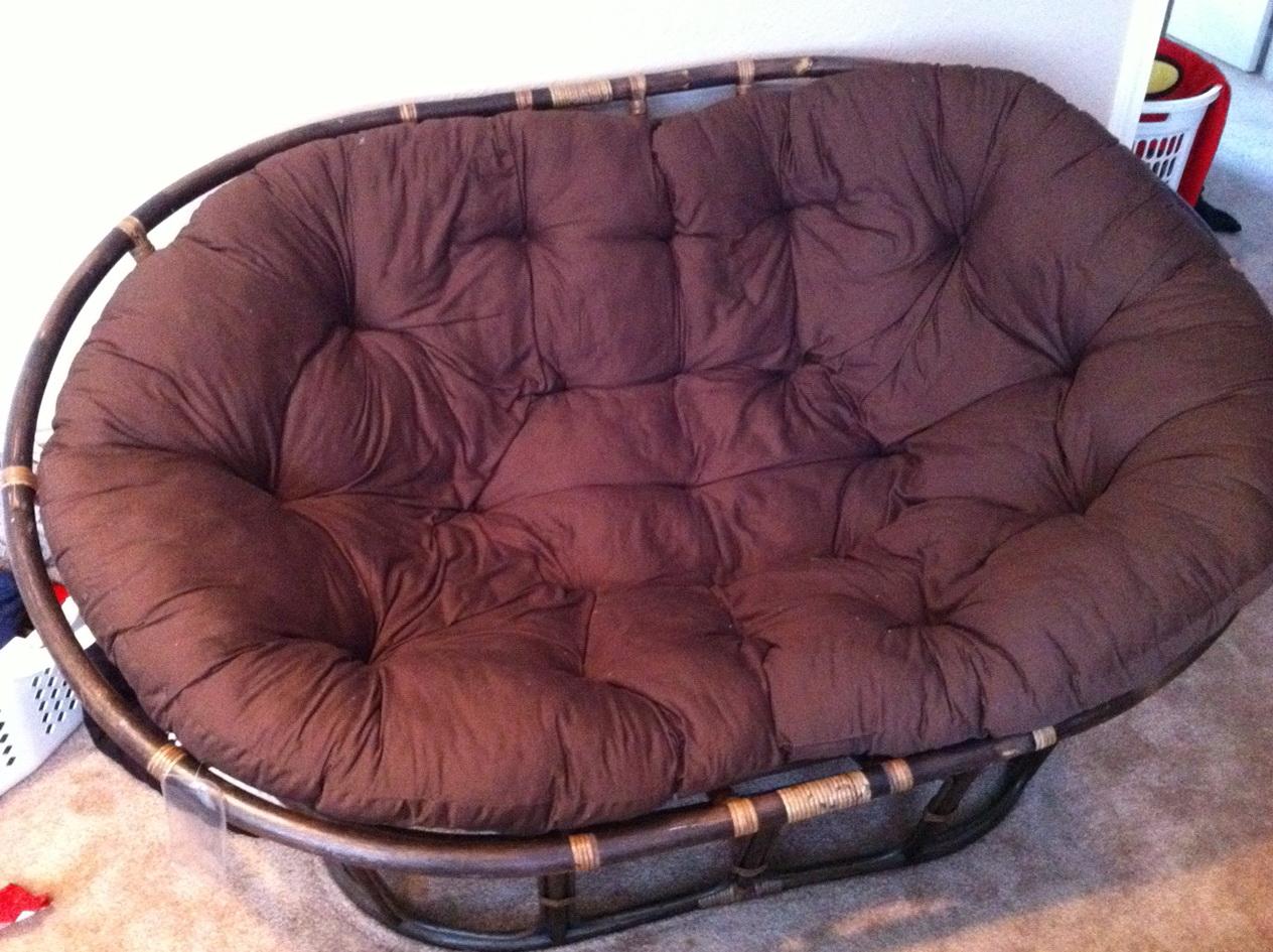Papasan Swivel Rocker Chair Cushion