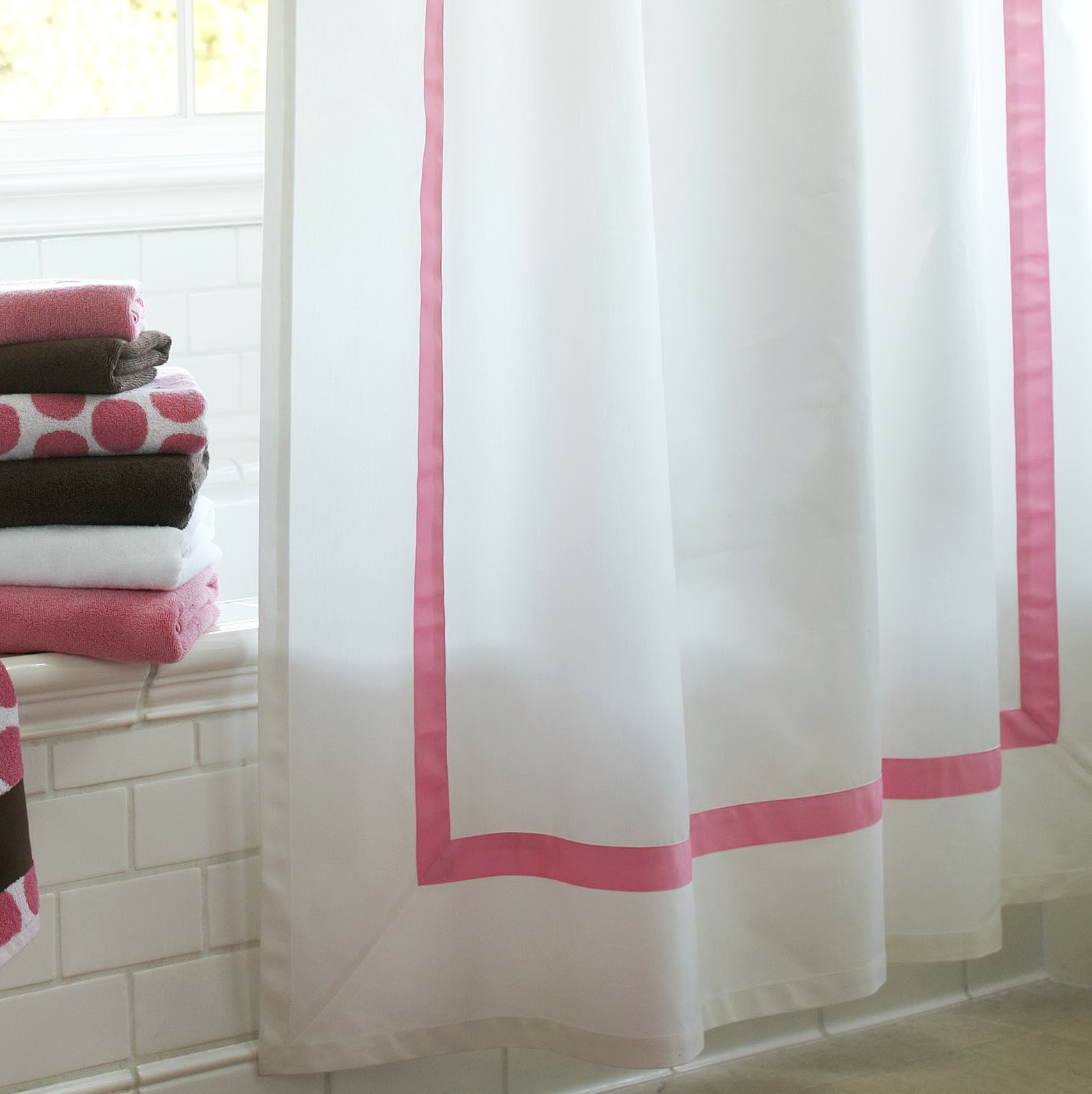 Pottery Barn Alana Shower Curtain