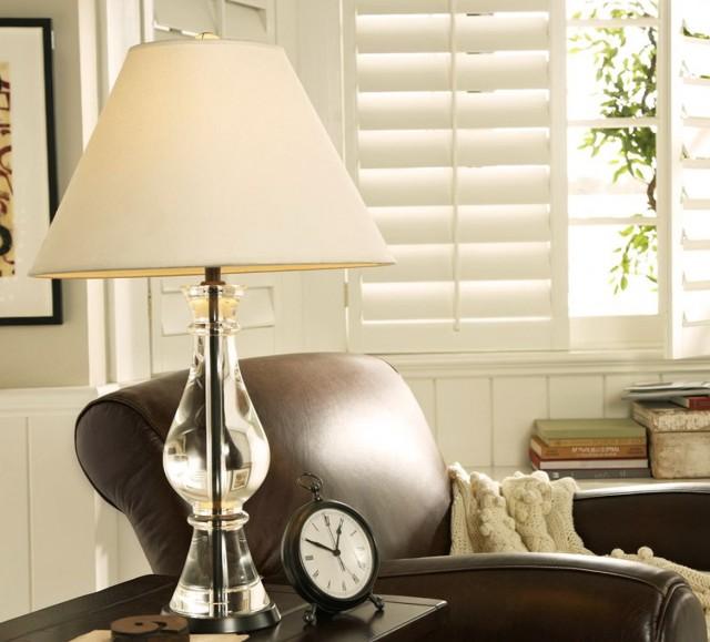 Pottery Barn Chandelier Table Lamp