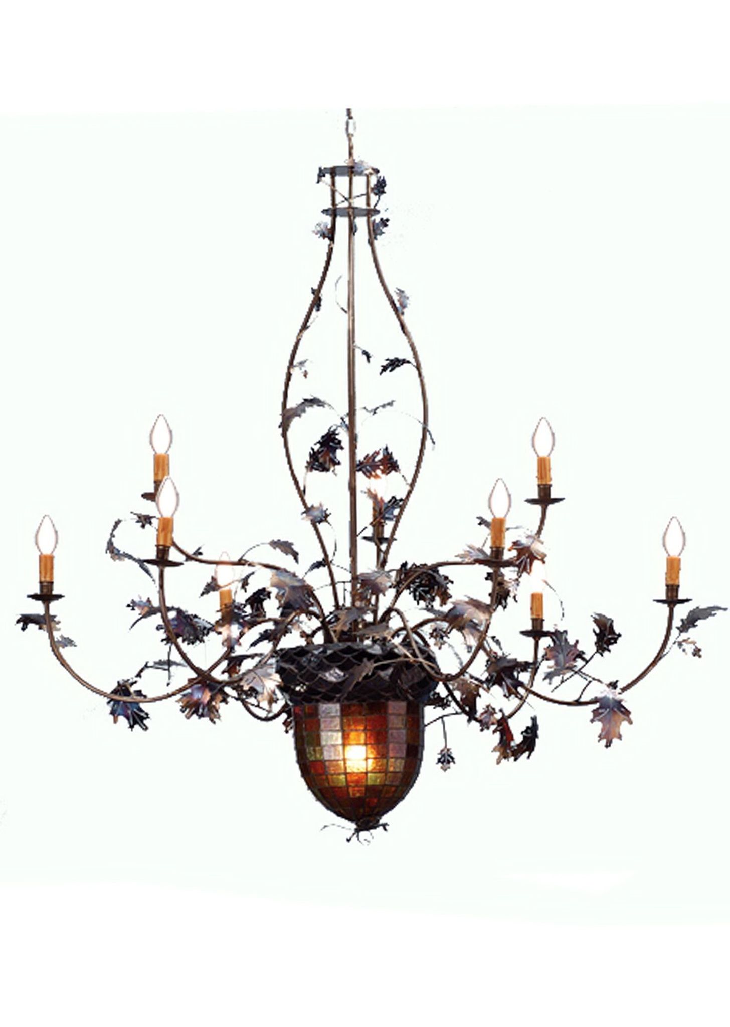 Remington 8 Light Chandelier