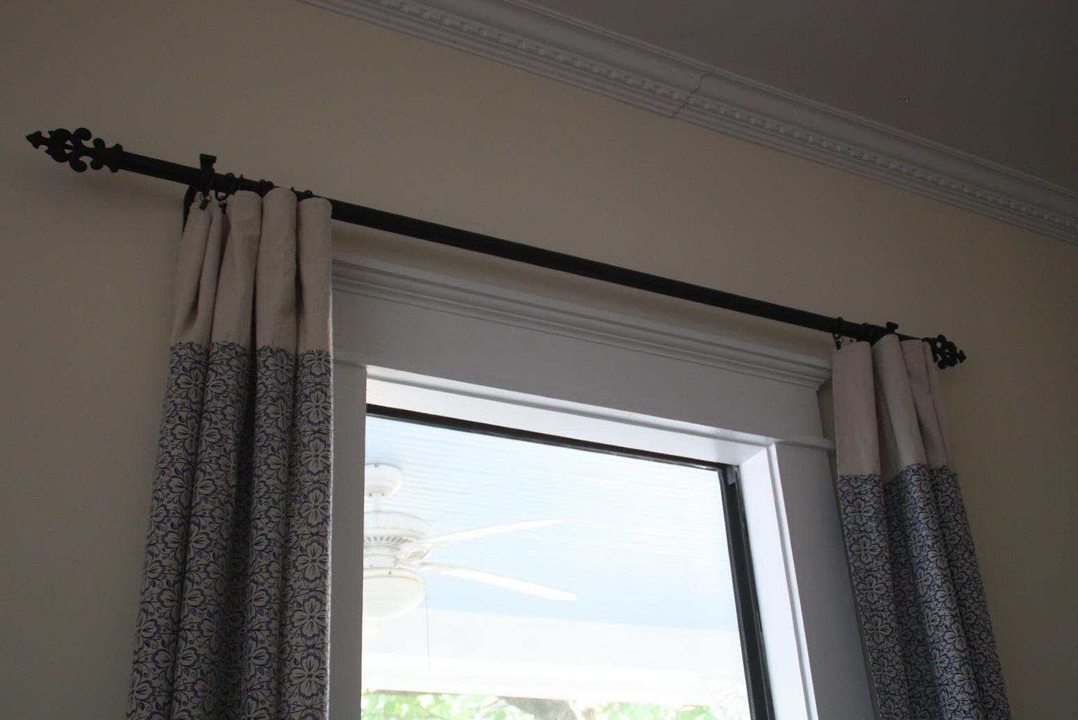 Restoration Hardware Curtain Rod