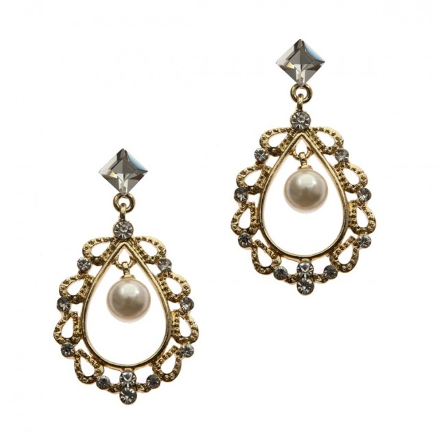 Rhinestone Chandelier Earrings Wholesale
