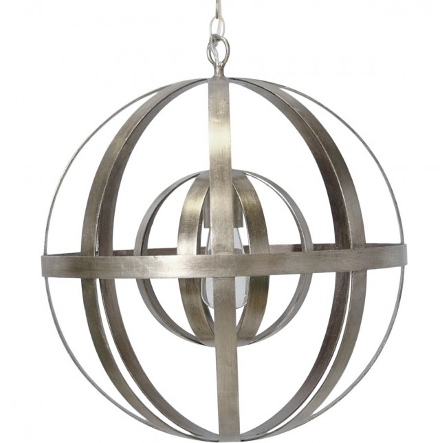 Robert Abbey Orb Chandelier