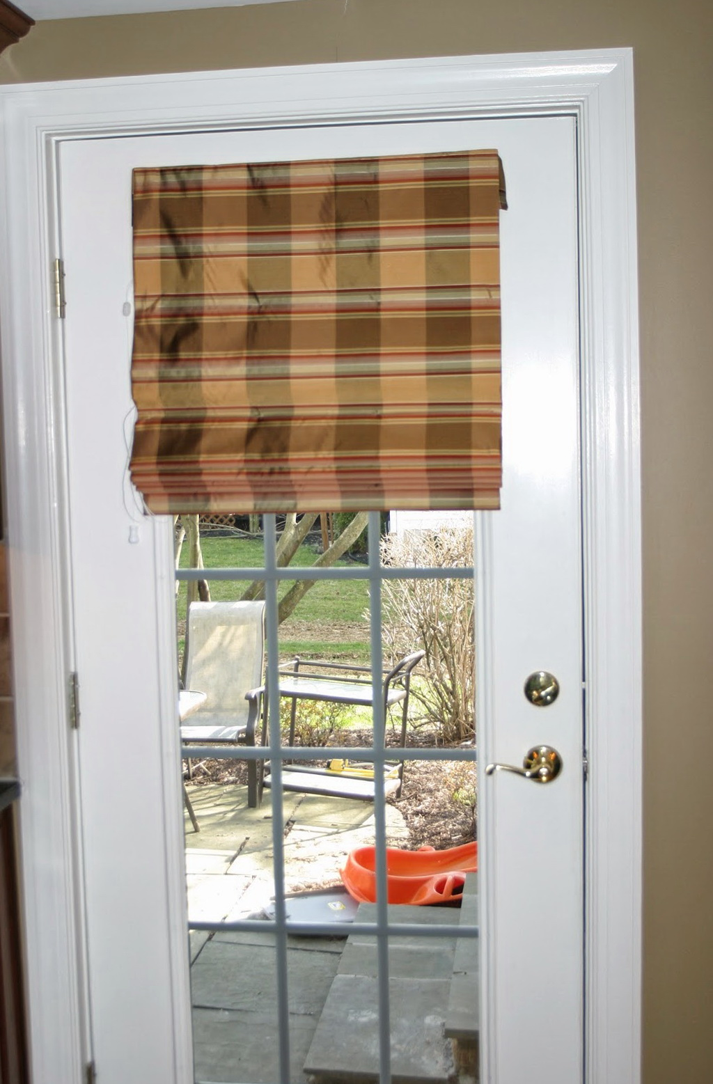 Roll Up Curtains For French Doors