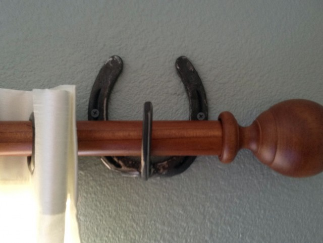 Rustic Curtain Rods Wood