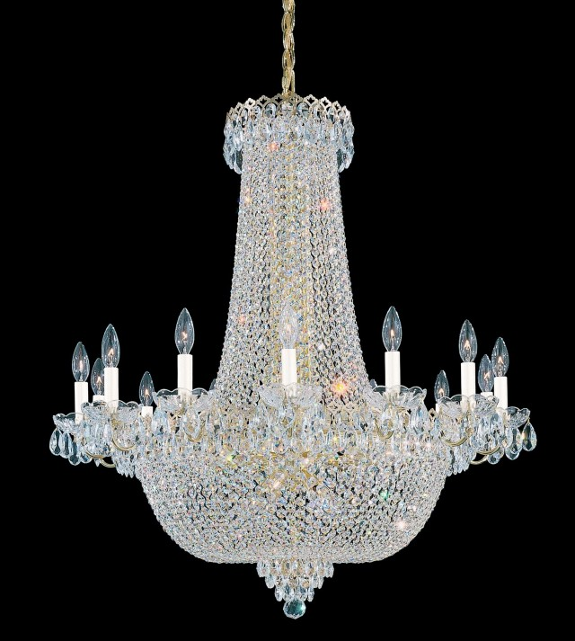Schonbek Crystal Chandelier Finishes