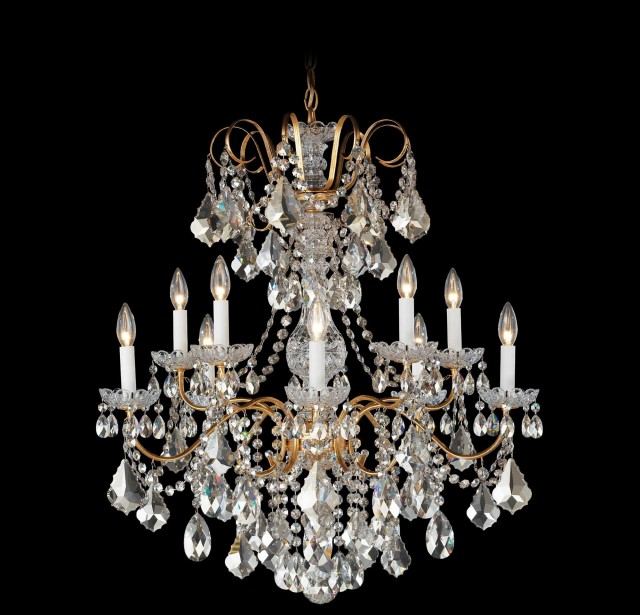 Schonbek Crystal Chandelier Parts