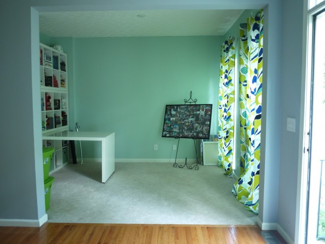 Seafoam Green Curtain Panels
