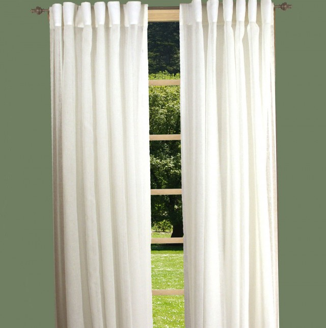 Semi Sheer Curtains Privacy