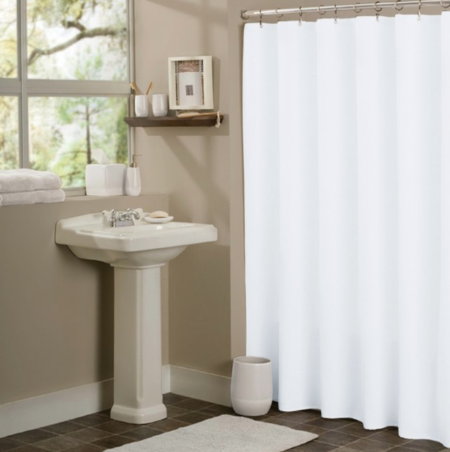 Shower Curtain Liners In Colors