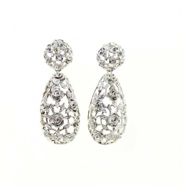 Silver Chandelier Earrings Uk