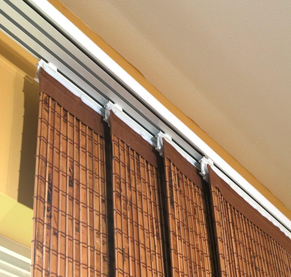 Sliding Door Curtain Panels