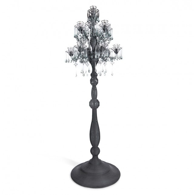 Standing Chandelier Floor Lamp