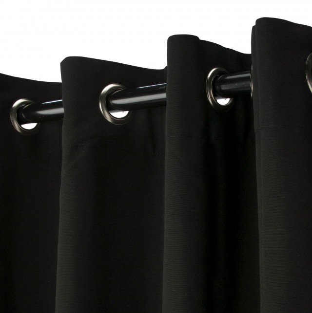 Sunbrella Outdoor Curtains Grommets