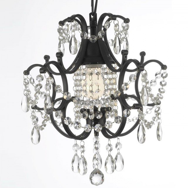 Swag Plug In Chandelier