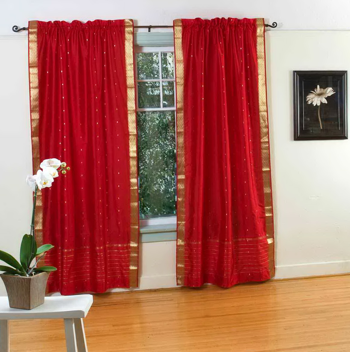 Velvet Curtain Panels Target