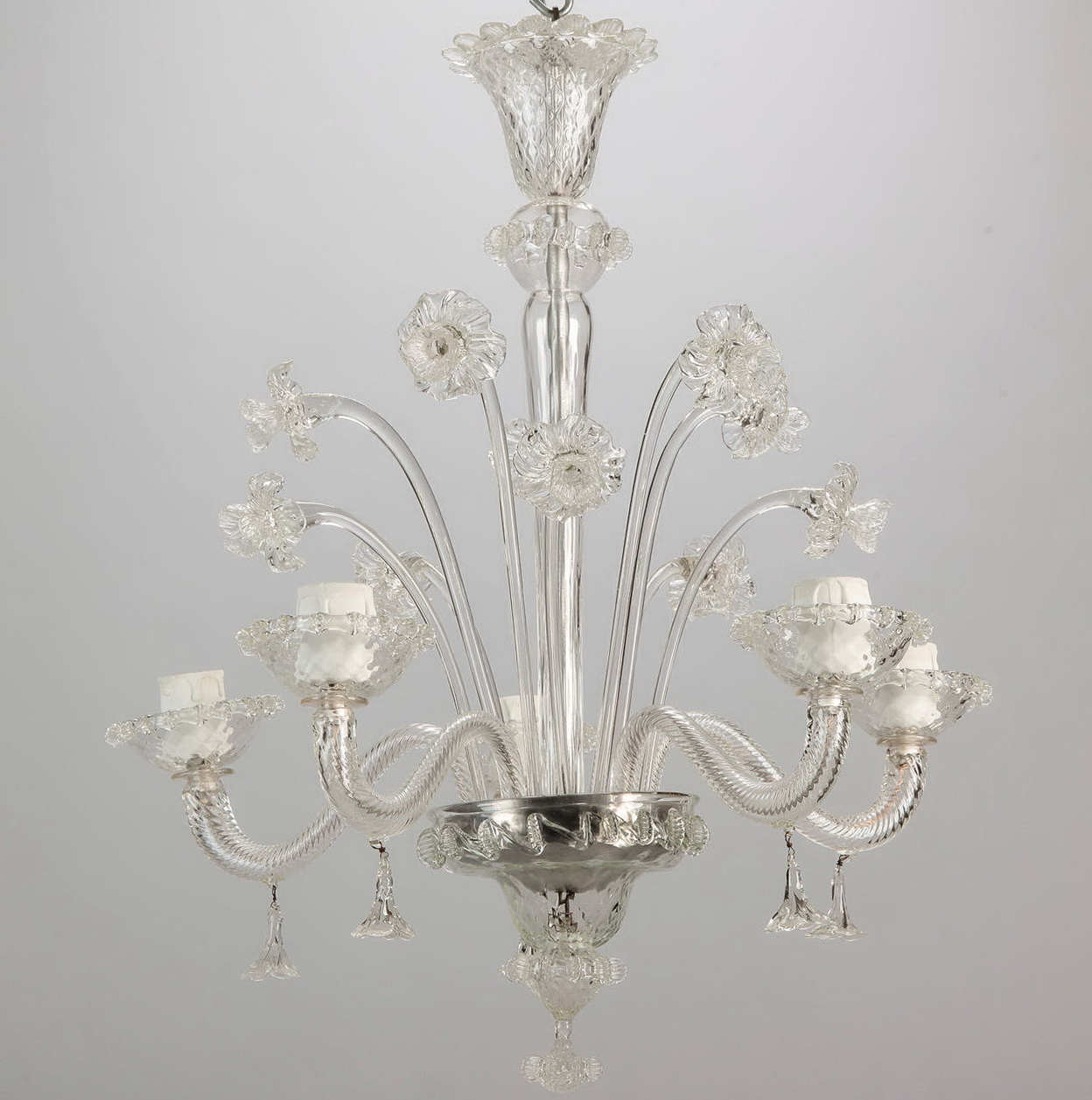 Venetian Glass Chandelier Lighting