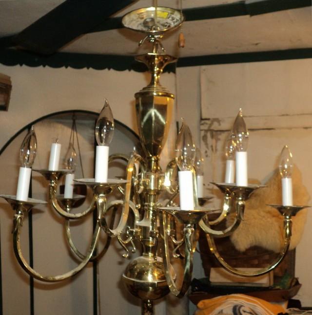Vintage Brass Chandeliers Ebay