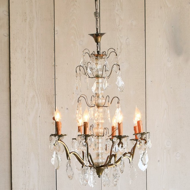 Vintage Brass Chandeliers Sale