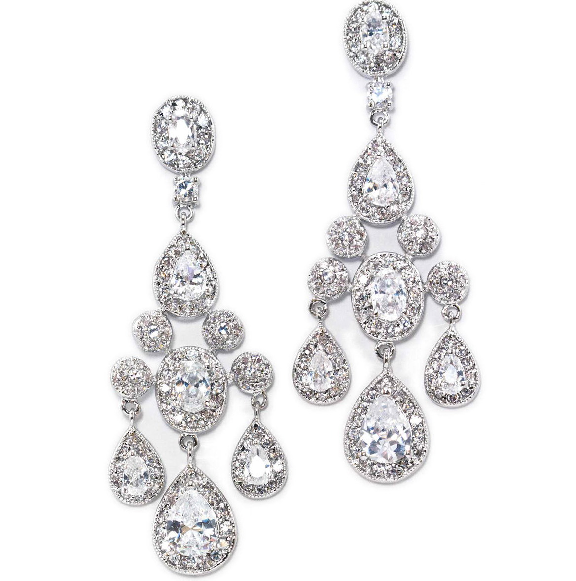 Vintage Chandelier Earrings Wedding