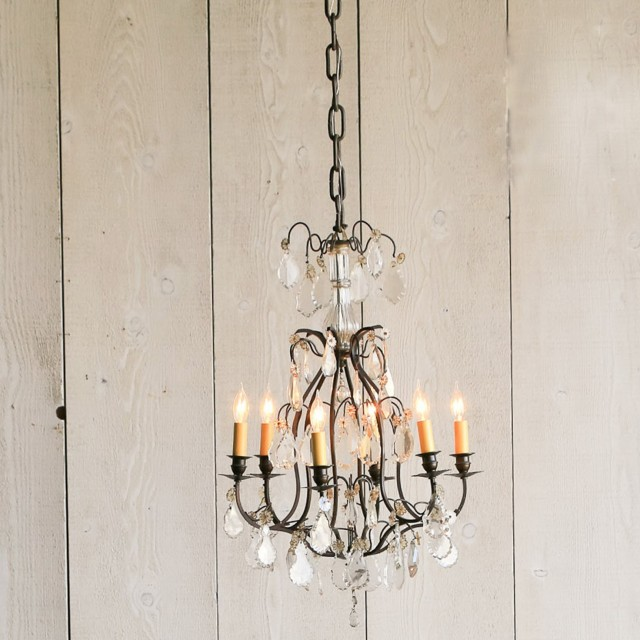 Vintage Crystal Chandeliers For Sale