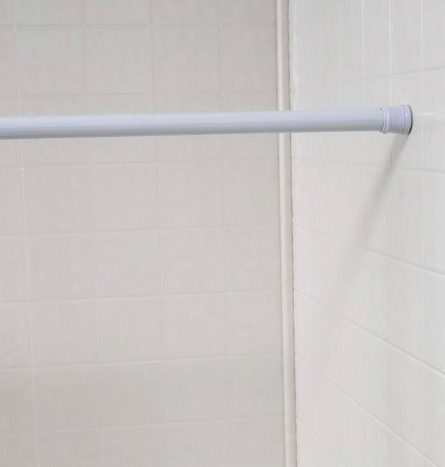 White Curtain Rods Walmart