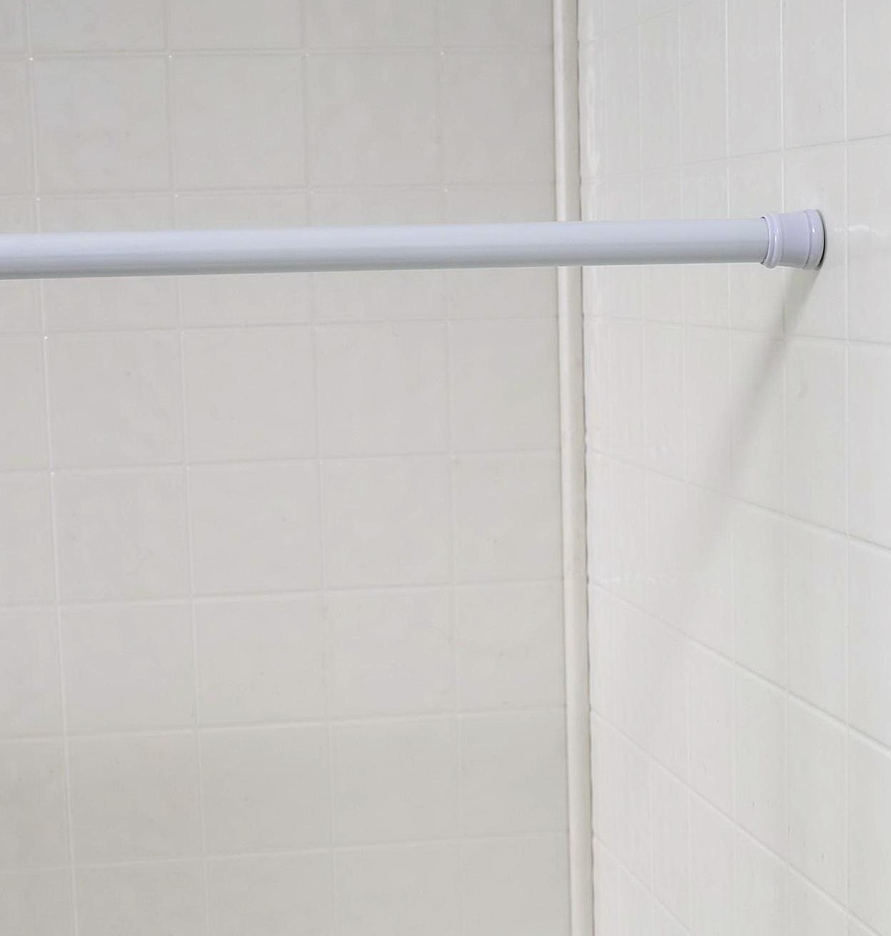 White Curtain Rods Walmart
