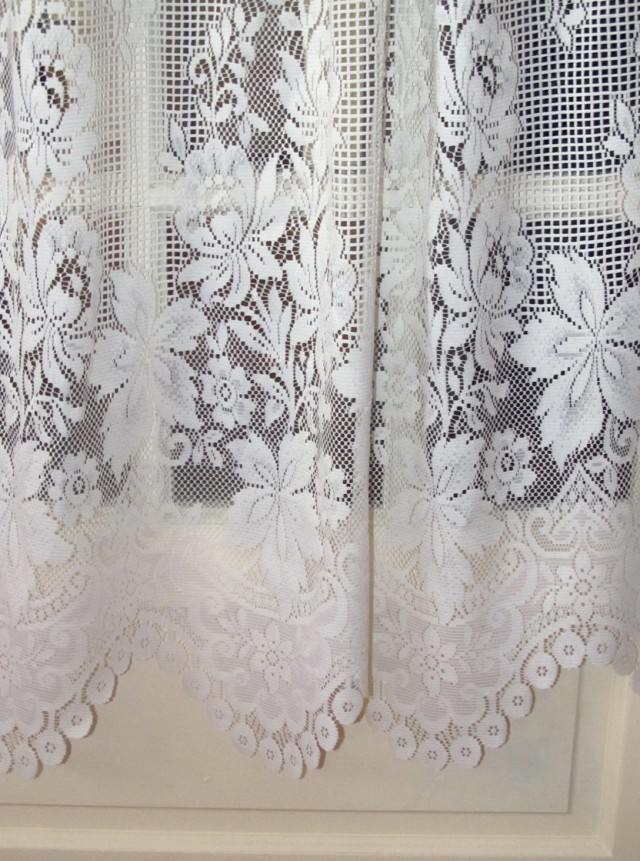 White Lace Curtains Walmart