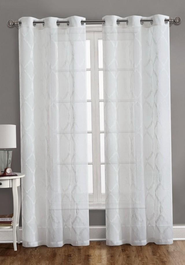 Window Curtain Grommet Panels
