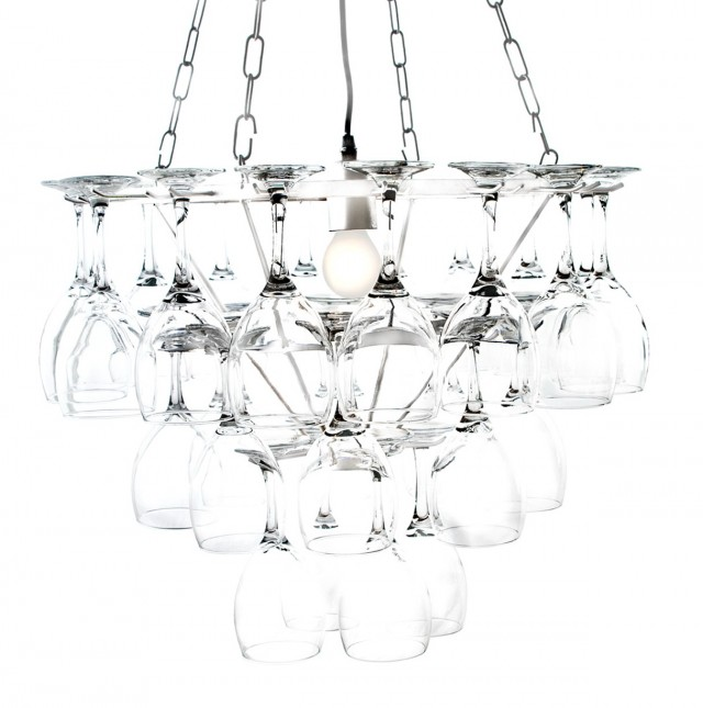 Wine Glass Chandelier Ebay
